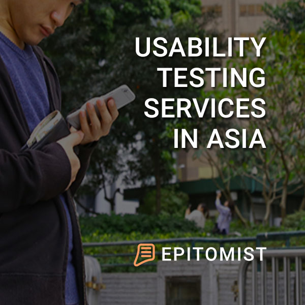 Epitomist - Usability Testing Services