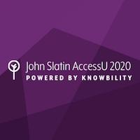 John Slatin AccessU 2020