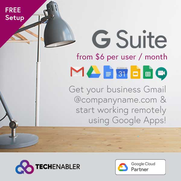 TechEnabler - G Suite - Working Remotely